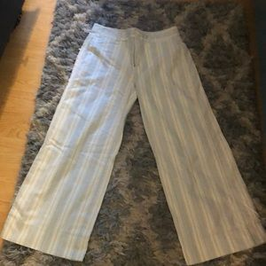 Trousers like wide legged cropped pants